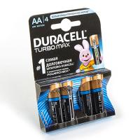 Э/п LR6 Duracell Turbo (UltraPower), BL4